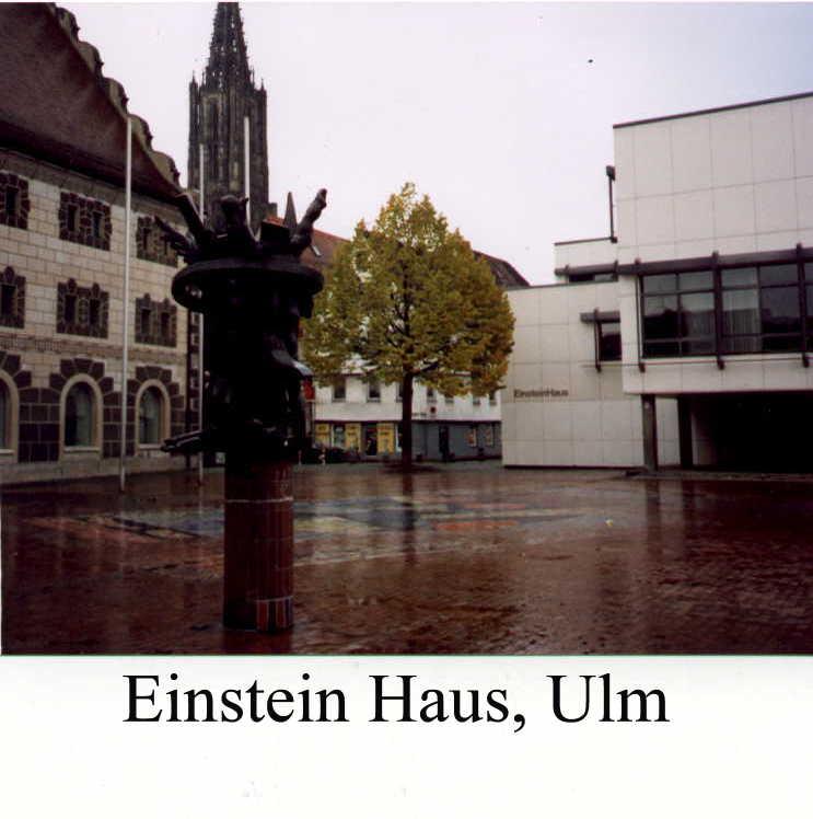 Ulm, Stuttgart, Berlin\\\\ Wittenberg, Leipzig\\\\ Nov.~7/18, 1991